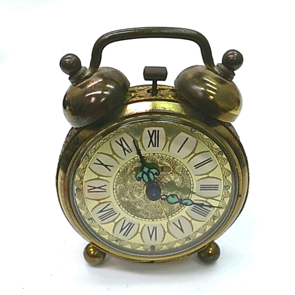Vintage elgin mini alarm o'clock